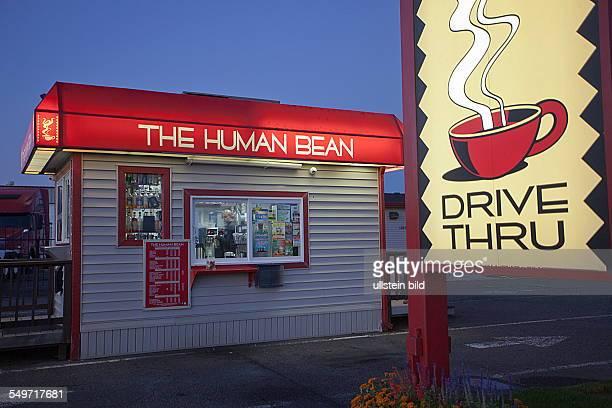 coffee booth in Medford Oregon USA