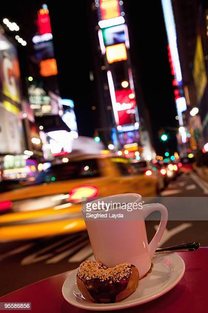 Coffee Break on Times Square