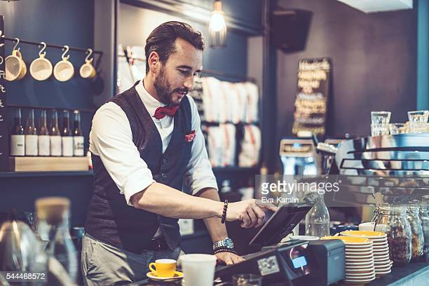 coffee break - cash register stock pictures, royalty-free photos & images