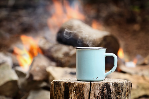 Coffee by a Campfire 693665766