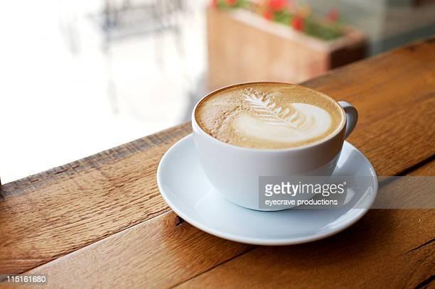 Café espresso, latte