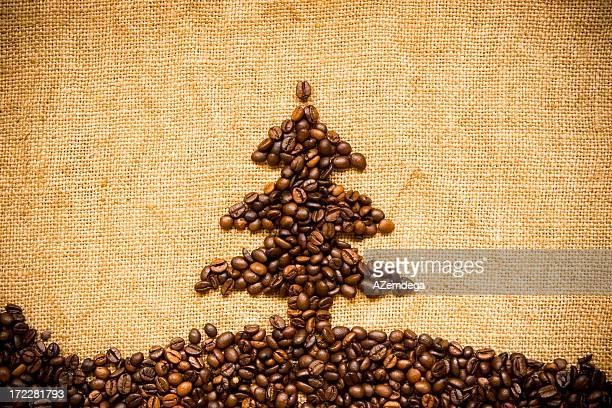 Coffee Christmas tree