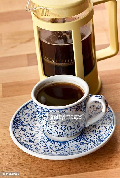 、フレンチプレスコーヒーカップ