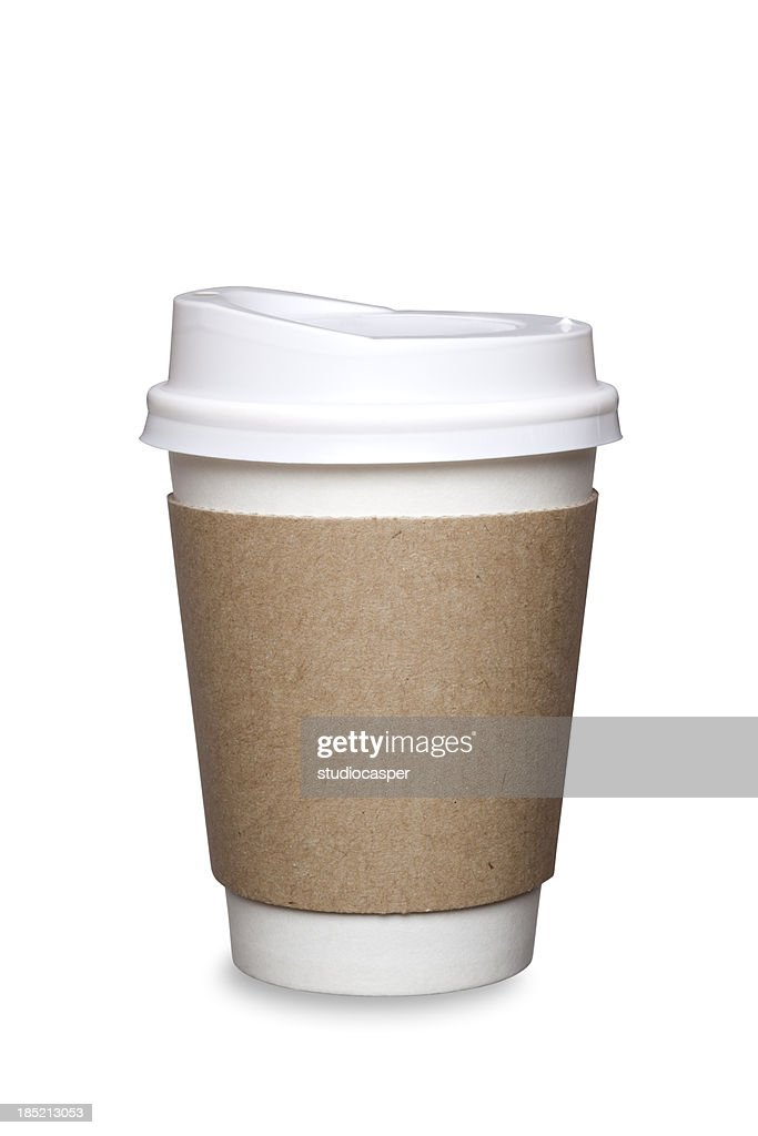 Coffee Cup Isolated : Stock Photo