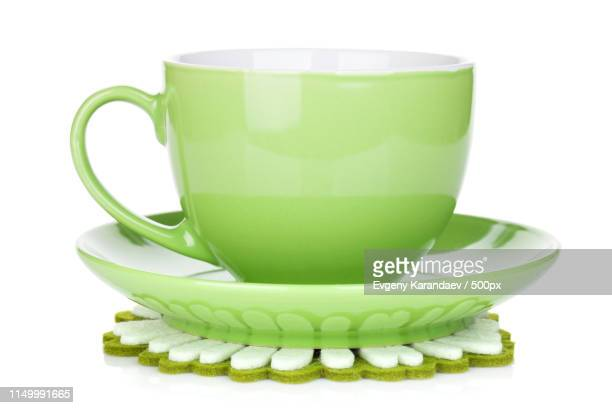 coffee cup on napkin - saucer stock pictures, royalty-free photos & images