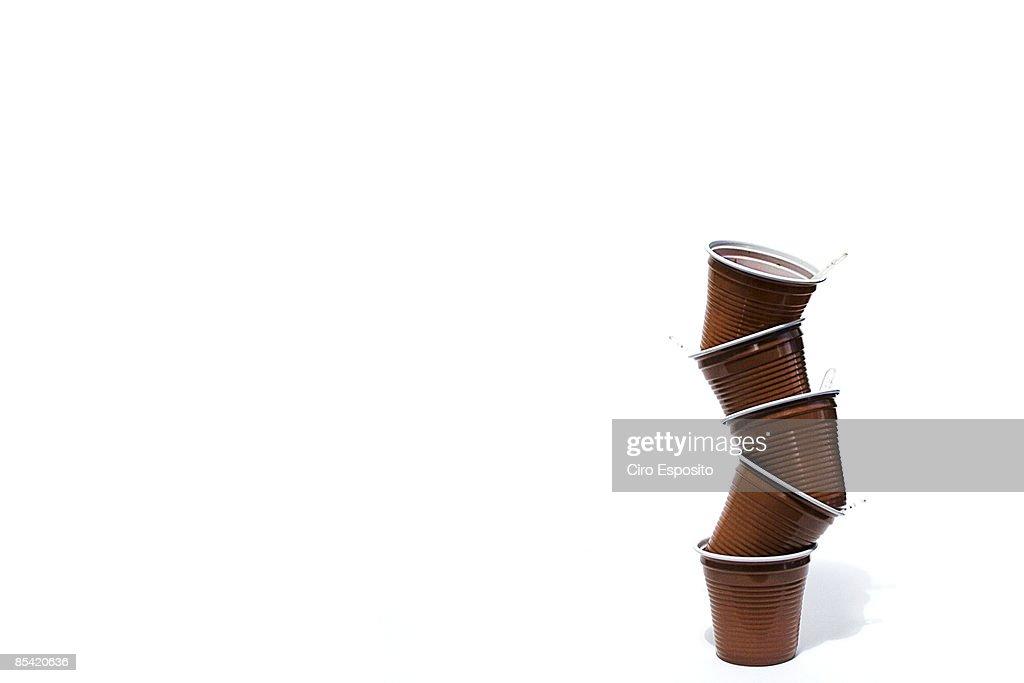 Coffee cups : Bildbanksbilder