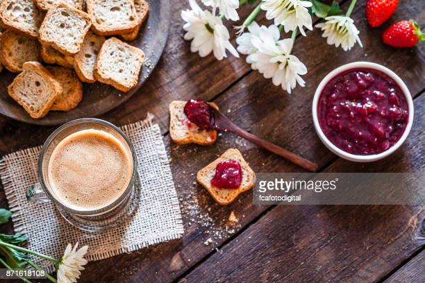 coffee drink on garden table - coffee drink stock pictures, royalty-free photos & images
