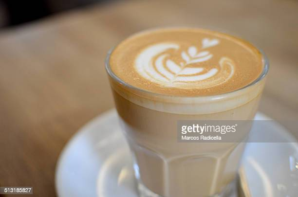 coffee foam, latte art - radicella stock pictures, royalty-free photos & images