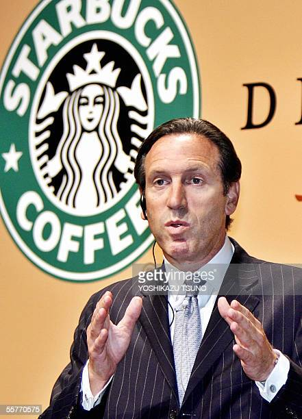 Coffee giant Starbucks Chairman Howard Schultz announces Starbucks and Japanese beverage giant Suntory will launch chilled cup coffees called...