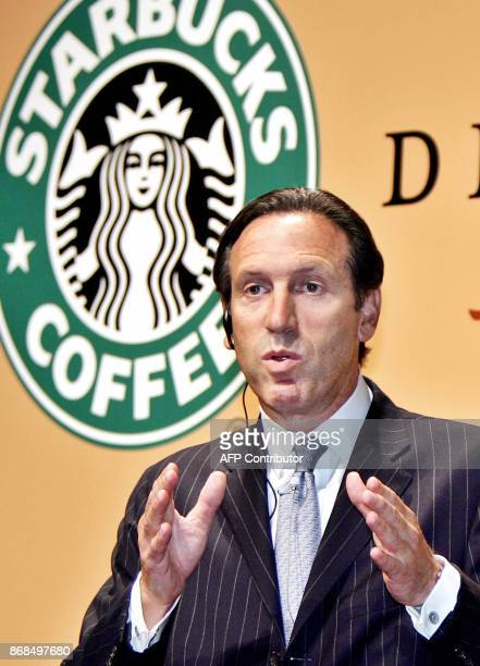 US coffee giant Starbucks Chairman Howard Schultz announces Starbucks and Japanese beverage giant Suntory will launch chilled cup coffees called...