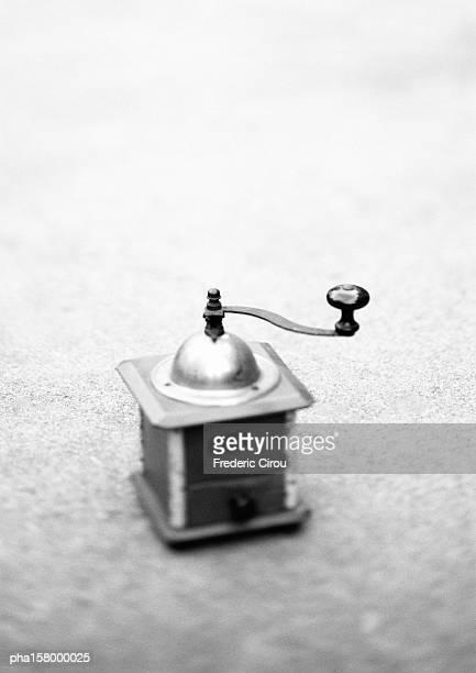 Coffee grinder, b&w.