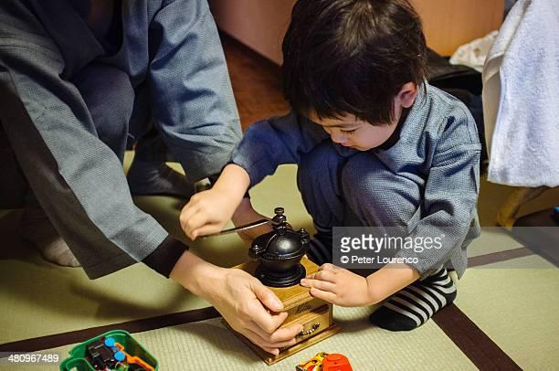 coffee grinder - peter lourenco stock-fotos und bilder
