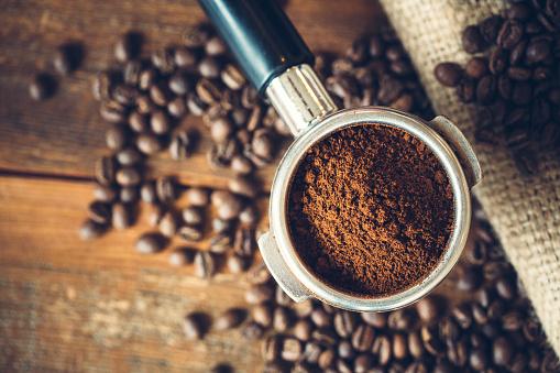 Coffee Ground in Portafilter for Espresso 533840078