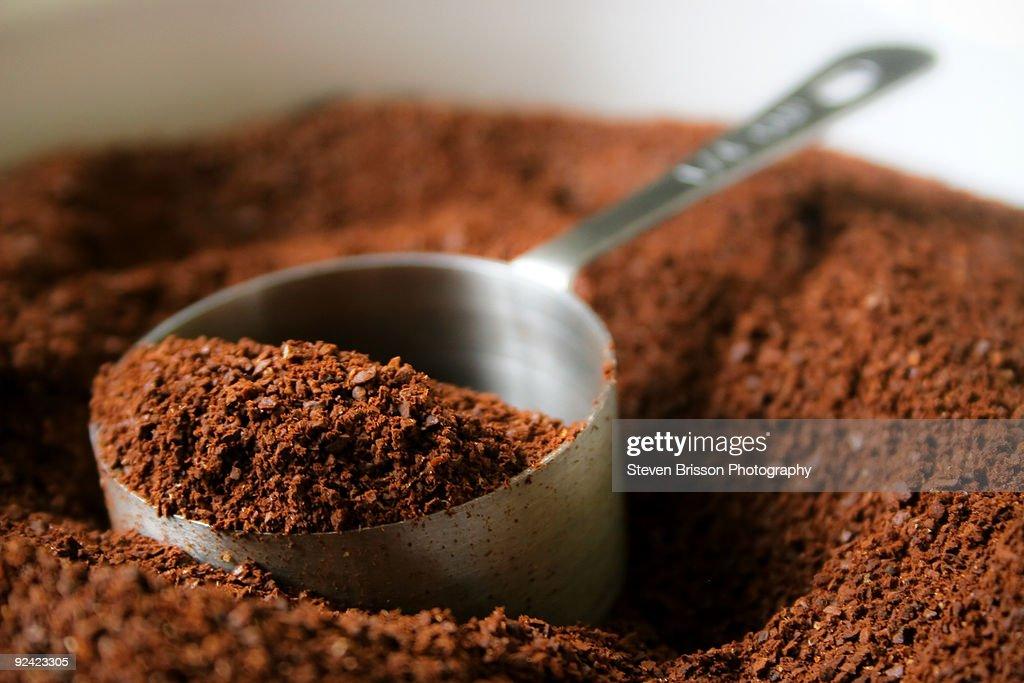 Coffee Grounds : Stock Photo