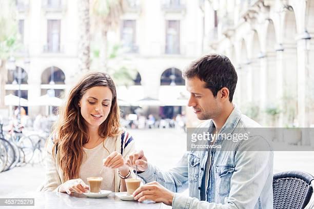Kaffee in Barcelona