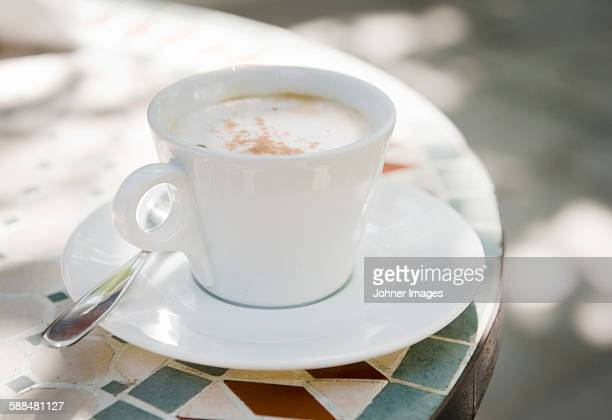 coffee in cup - mosaic stock photos and pictures