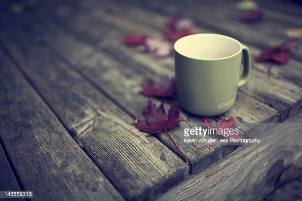 Coffee in Fall
