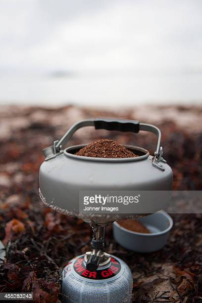 Coffee in pot