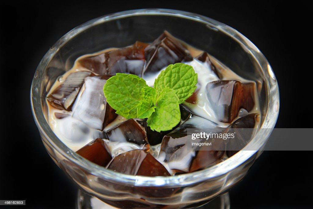 Coffee jelly : Stock Photo