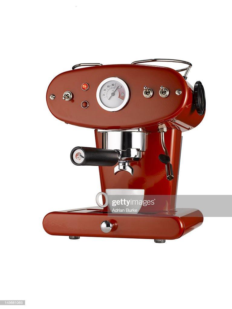 Coffee machine. : Stock Photo