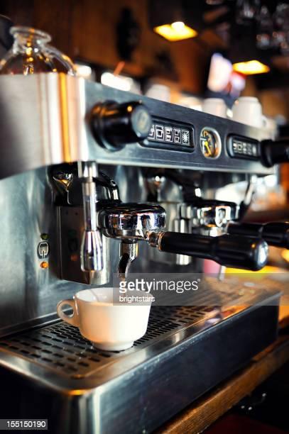コーヒーメーカー、レストラン