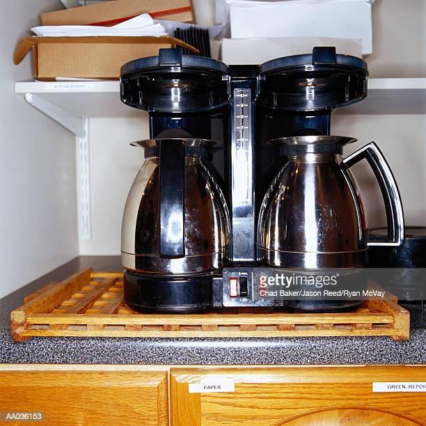 Coffee Maker in an Office