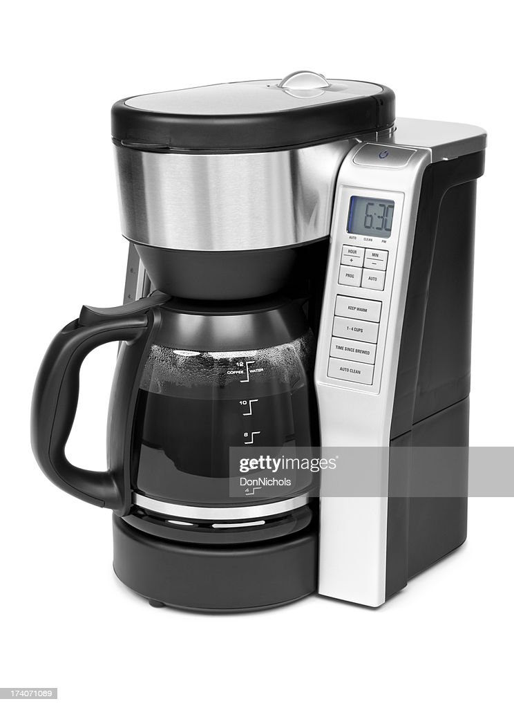 Coffee Maker Isolated : Stock Photo