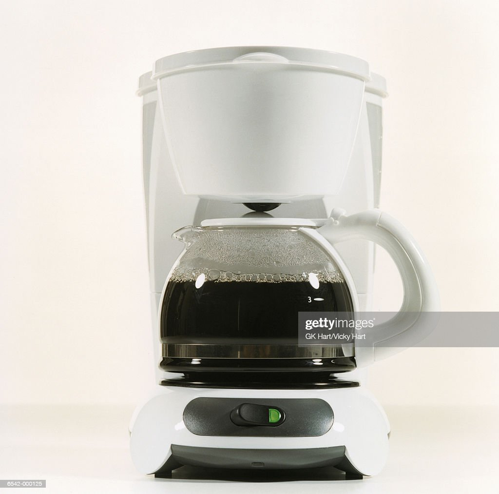 Coffee Maker with Coffee : Stock Photo