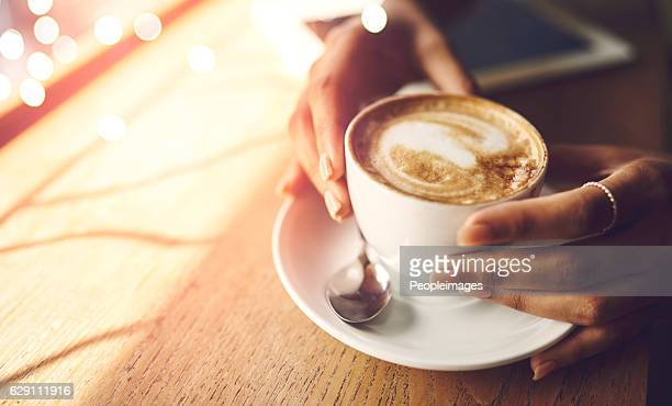 coffee makes everything possible - coffee break stock pictures, royalty-free photos & images