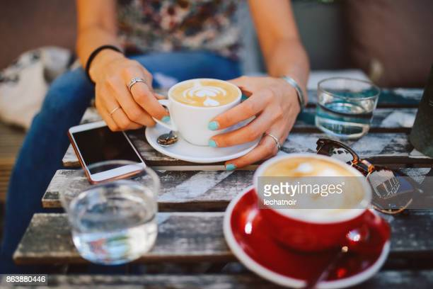 coffee moments - belgrade serbia stock pictures, royalty-free photos & images