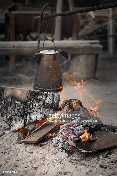 Coffee over an open fire