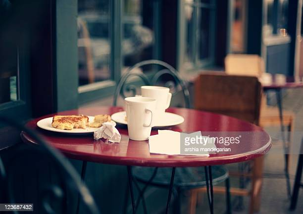 coffee - empty paper plate stock photos and pictures
