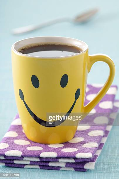 coffee - smiley face stock pictures, royalty-free photos & images