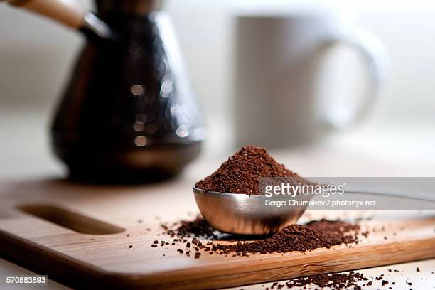coffee - ground coffee - fotografias e filmes do acervo
