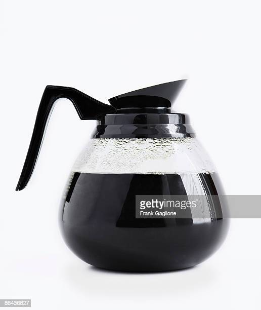 Coffee Pot on White.