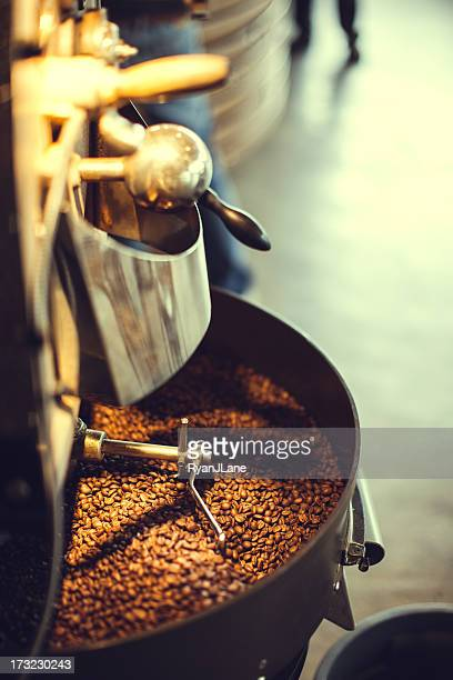 Coffee Roaster in Action