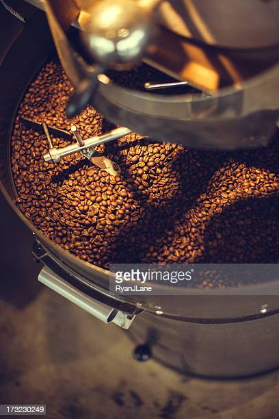 Coffee Roaster in Aktion