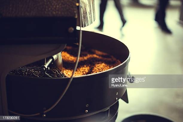 Coffee Roaster in Motion