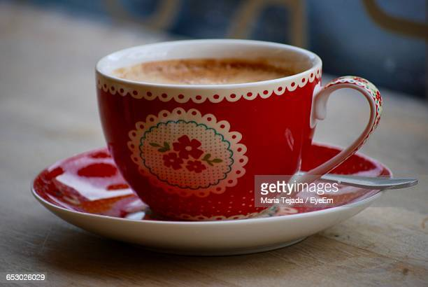 coffee served on table - maria tejada stock pictures, royalty-free photos & images