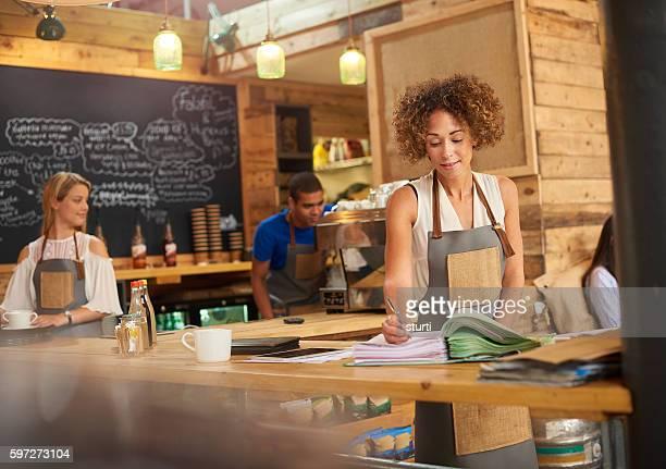Coffee shop accounts