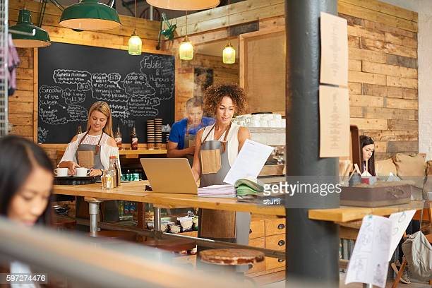 Coffee shop bookkeeping