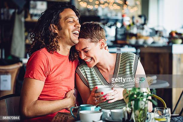 Coffee Shop Couple