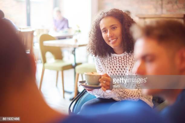 coffee shop friends