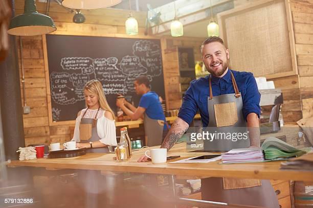 Coffee shop owner cash flow