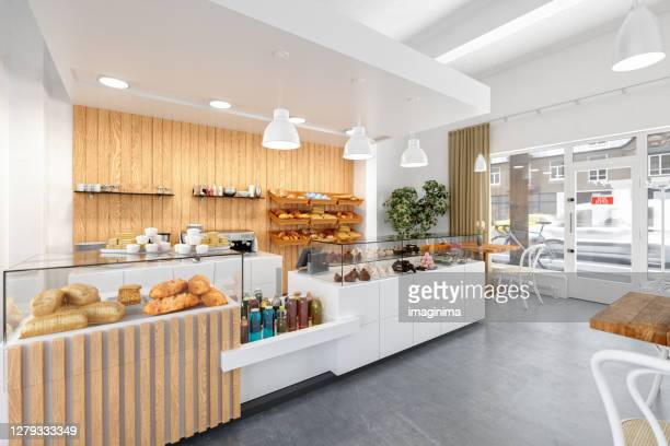 coffee shop - bakery stock pictures, royalty-free photos & images