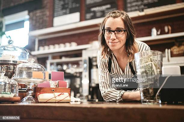 Coffee Shop Start-Up Woman