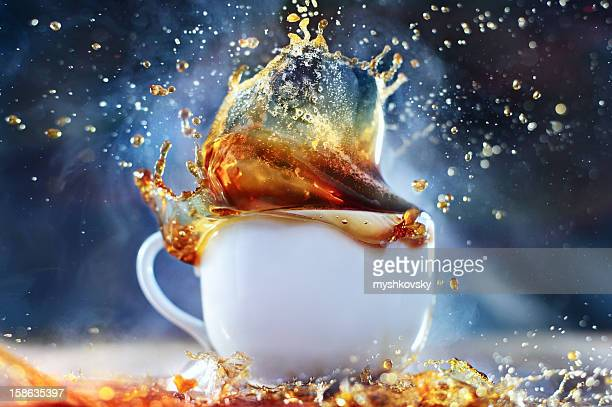 Coffee (tea) splash
