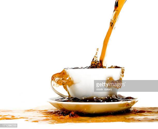 Di caffè splash