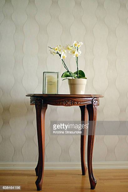 coffee table in retro style