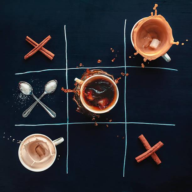 Coffee Tic-tac-toe Wall Art